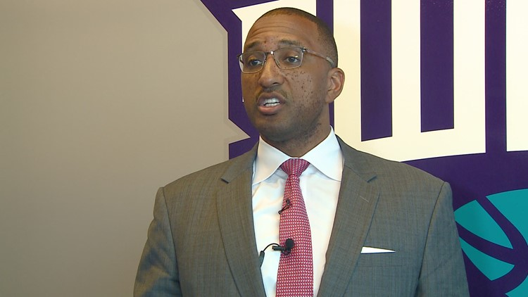 NBA G League President Shareef Abdur-Rahim Talks Greensboro Swarm And Coliseum Fieldhouse
