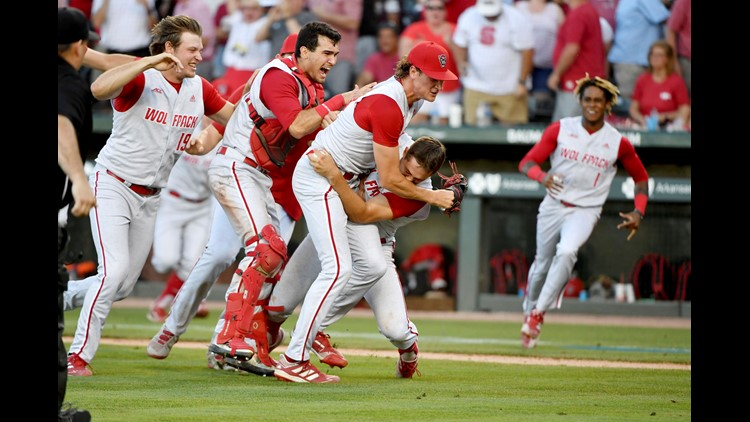 'It says a lot about the Triad': Eight Triad players head to Omaha with NC State baseball