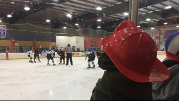 Guns vs Hoses: Greensboro Police and Fire Hit the Ice for Special Olympics Fundraiser