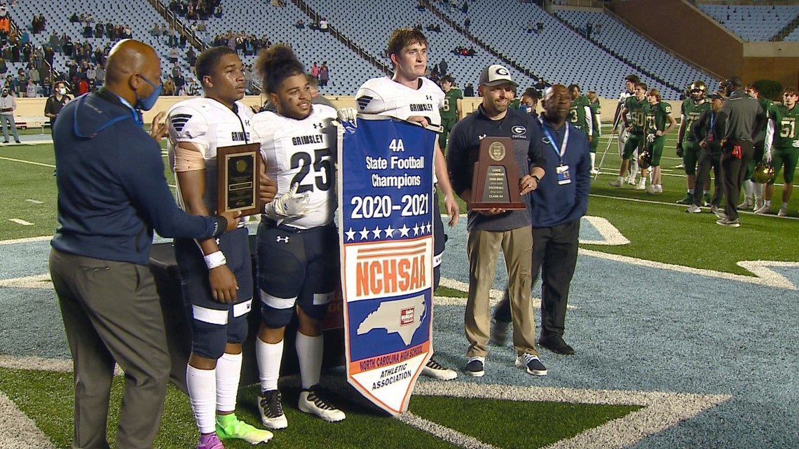Undefeated: Grimsley Football seniors riding high after winning 4A state title