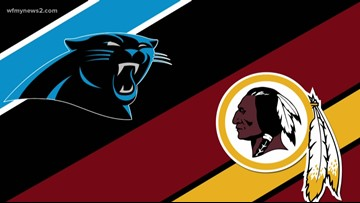 The Carolina Panthers hope to get back in the win column against struggling Redskins