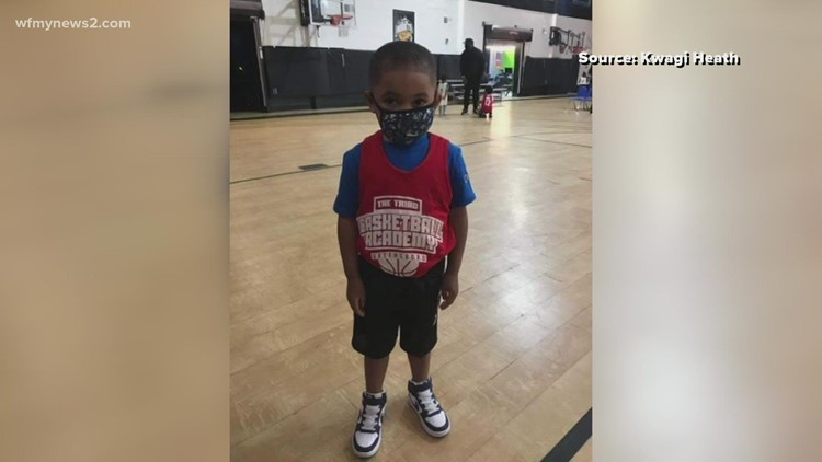 Greensboro basketball academy honors High Point 4-year-old who accidentally shot himself