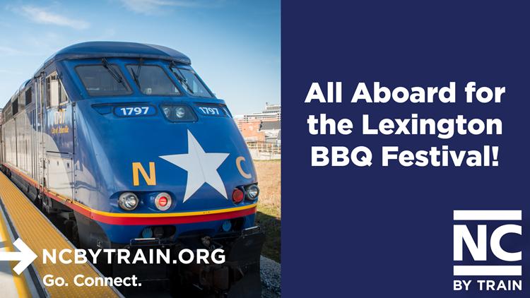 All Aboard for Barbecue! Ride the Train to the Lexington Barbecue Festival
