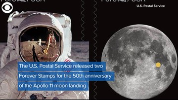New Apollo 11 Forever Stamps Are Out Of This World!