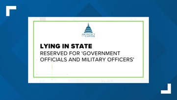 Lying in State is automatic for Presidents & former Presidents. Will Colin Powell Lie in State?