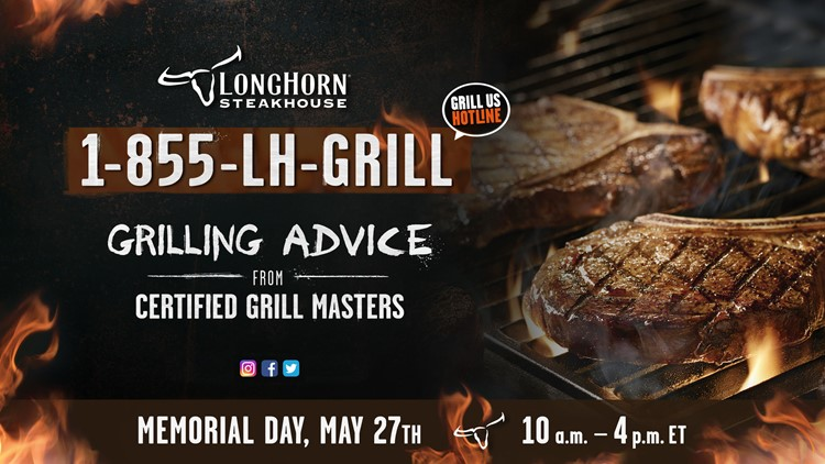 Need Grilling Questions? Longhorn Steakhouse Has Answers