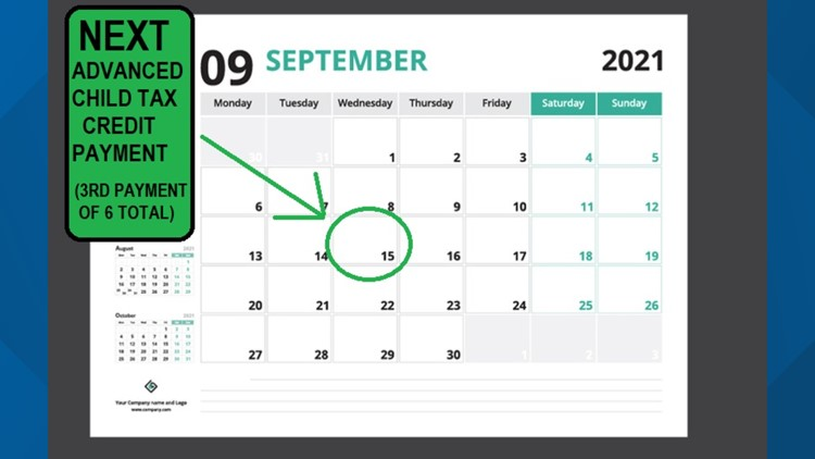 September 15: Your bank account gets a $250 to $300 boost