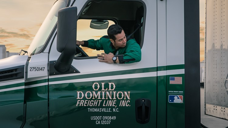 Average salaries over $70K: Old Dominion hiring 800 truck drivers