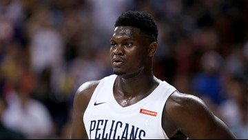 Former Duke Star Zion Williamson Out For Summer League With Bruised Knee