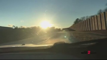 Dashcam video: New part of Urban Loop opens from Lawndale to Battleground