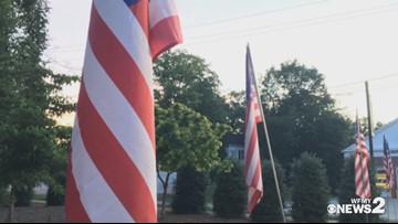 Memorial Day Service in Jamestown