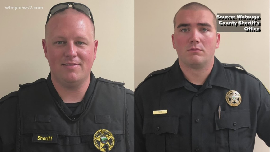 Triad sheriffs reflect after attending funeral for deputies killed in Boone standoff