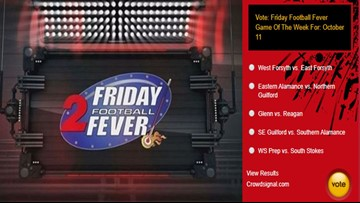 Eastern Alamance Vs Northern Guilford Is Friday Football Fever's 'Game Of The Week' For October 11