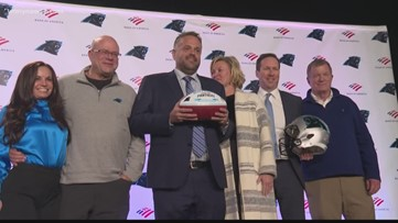 Carolina Panthers select Matt Rhule as next head coach