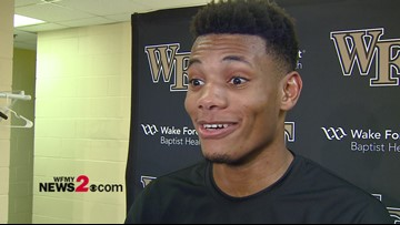 Wake Forest's Ody Oguama comes up big in win over Boston College