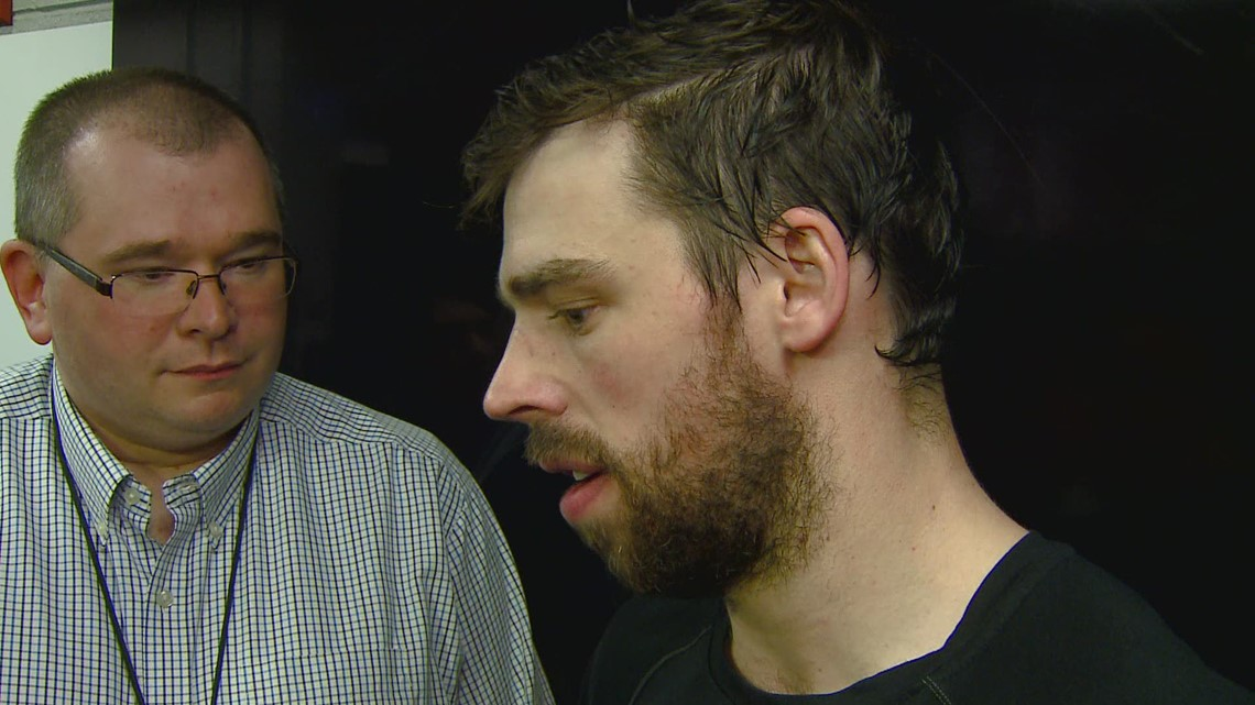 Carolina Hurricanes Center Greg McKegg Speak With The Media After Tonight's Win Over The NY Islanders