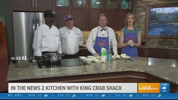 Seaside Dishes with King's Crab Shack