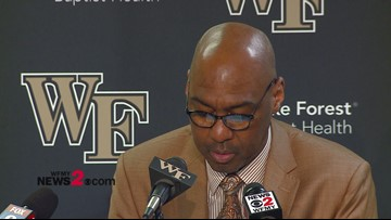 Postgame interview with Wake Forest Head Coach Danny Manning
