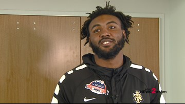 North Carolina A&T WR Elijah Bell talks Celebration Bowl and his four years with the Aggies