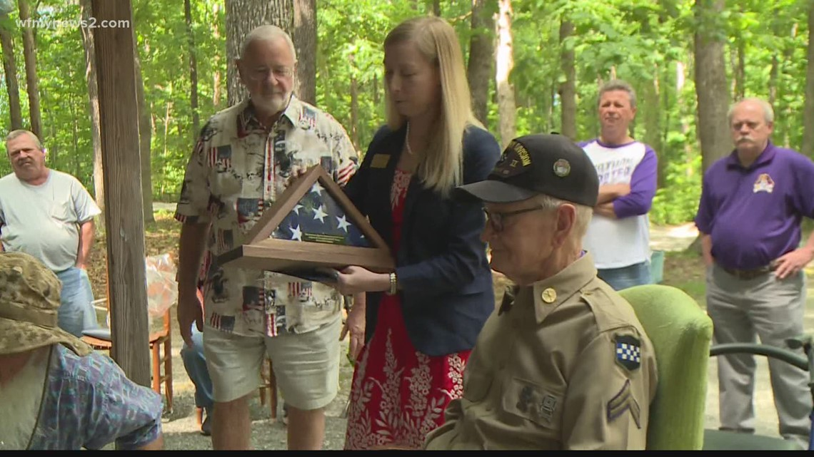 Title: NC WWII veteran turns 100 and still lives life to the fullest