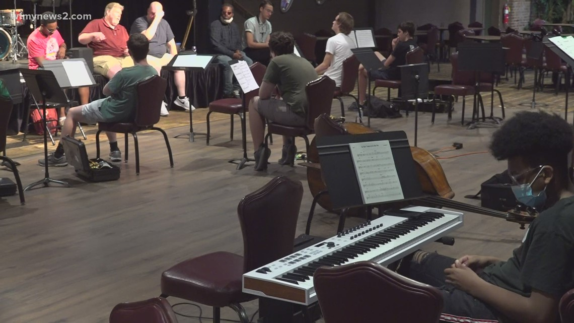 Students pay homage to John Coltrane