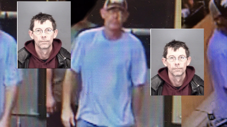 Michael R Enochs arrested in connection stolen car with child case