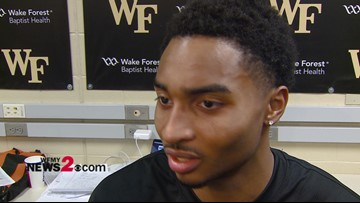 Interview With Wake Forest PG Brandon Childress after win over Boston College