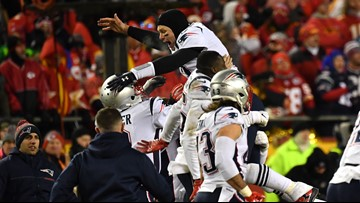 Patriots Make 3rd Straight Super Bowl, Beat Chiefs 37-31 In OT