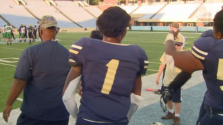 Reidsville Rams celebrate 22nd football State Title