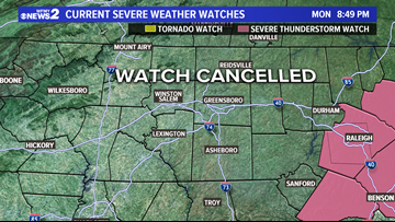 SEVERE THREAT OVER | More Storms Possible Tuesday