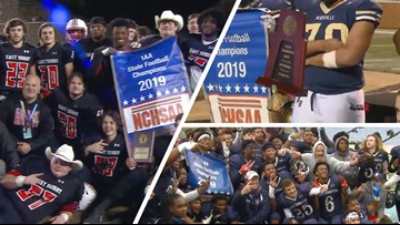 All three Triad teams earn football state titles