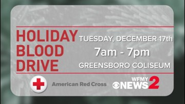 Help save lives at the 55th annual WFMY News 2 Holiday Blood Drive