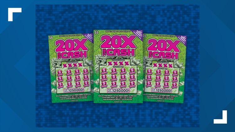 Guilford County woman 'starts shouting' after $5 ticket wins her $250,000 prize
