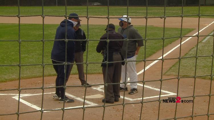 High Point Christian vs. Caldwell Academy HS Baseball