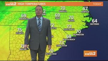 Ed Matthews' Sunday Morning Forecast