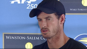 Three-Time Major Winner And Former World No. 1 Andy Murray Talking Tennis Ahead Of The Winston-Salem Open