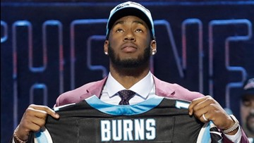 Feel The Burn! Panthers Select Brian Burns With No. 16 Pick In 2019 NFL Draft