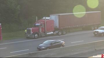 Fuel Spill Closes Lane on I-40 in Winston-Salem