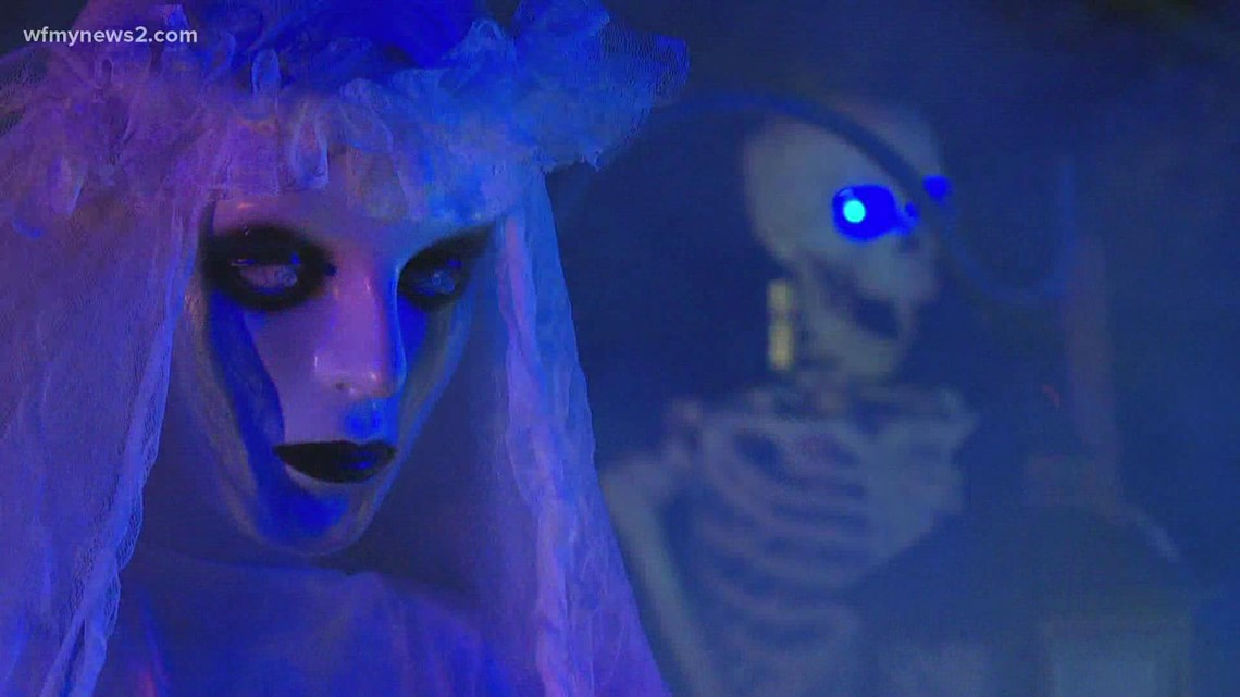 Creepiest house in Greensboro is a must-stop for Halloween... if you dare