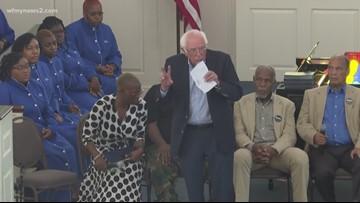Bernie Sanders Campaigns at Bennett College