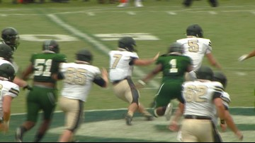 Early Highlights From Ferrum College vs. Greensboro College Football Matchup