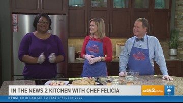 Chef Felicia kicking off your New Year's Eve party - Part 1