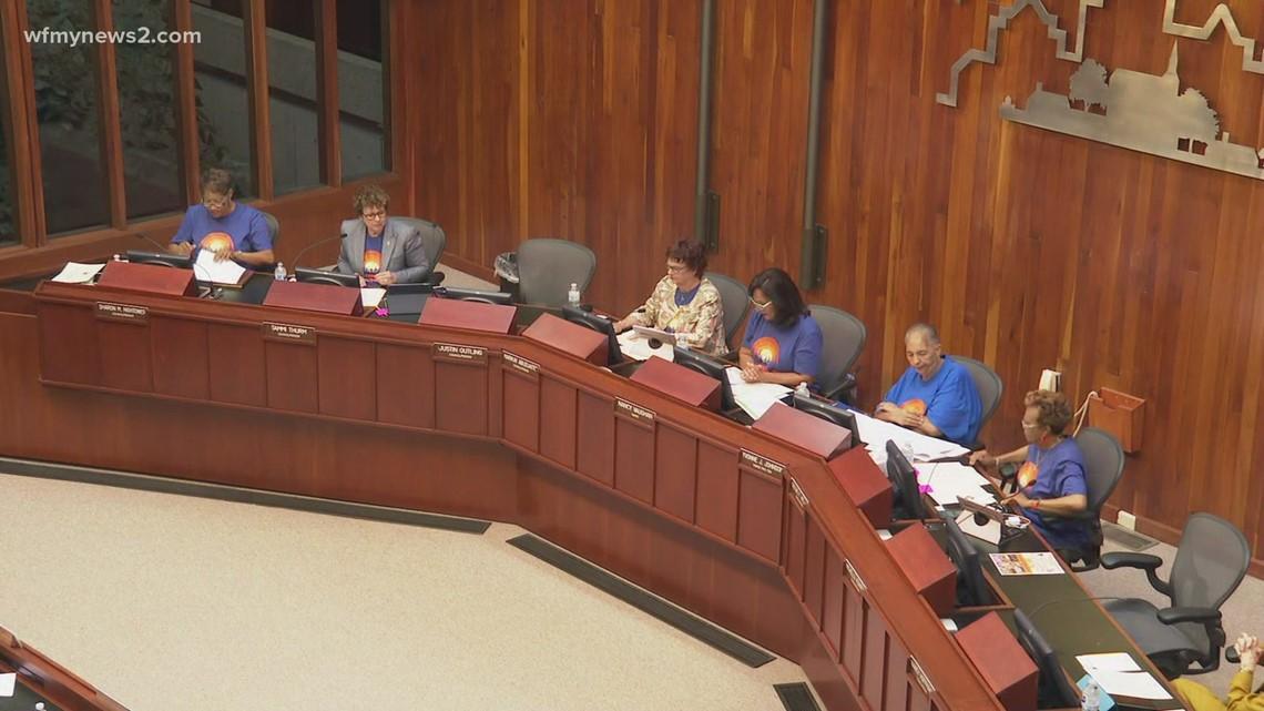 Council members discuss rash of violent crimes in Greensboro