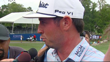 Hear From 2019 Wyndham Championship Winner J.T. Poston