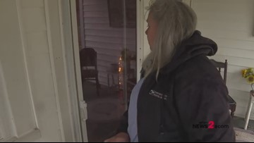 Postal worker surprises 9-year-old William Sidebottom with a special Christmas delivery!