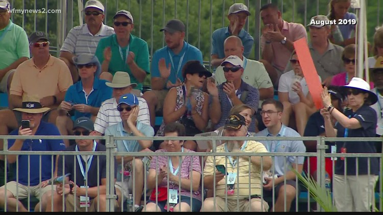 'It's great, great publicity for us'   Guilford County reacts to influx of fans for Wyndham Championship