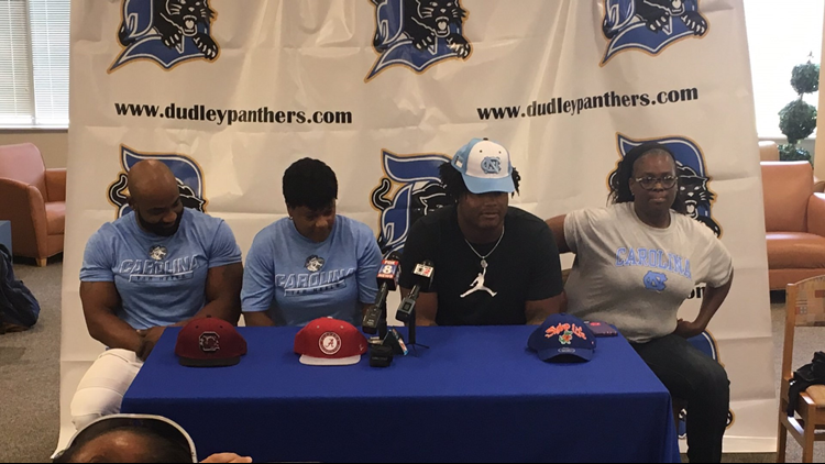 Dudley Football Star Myles Murphy Commits to UNC