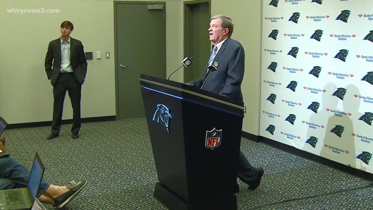 Panthers Announce Marty Hurney Will Not Continue As General Manager