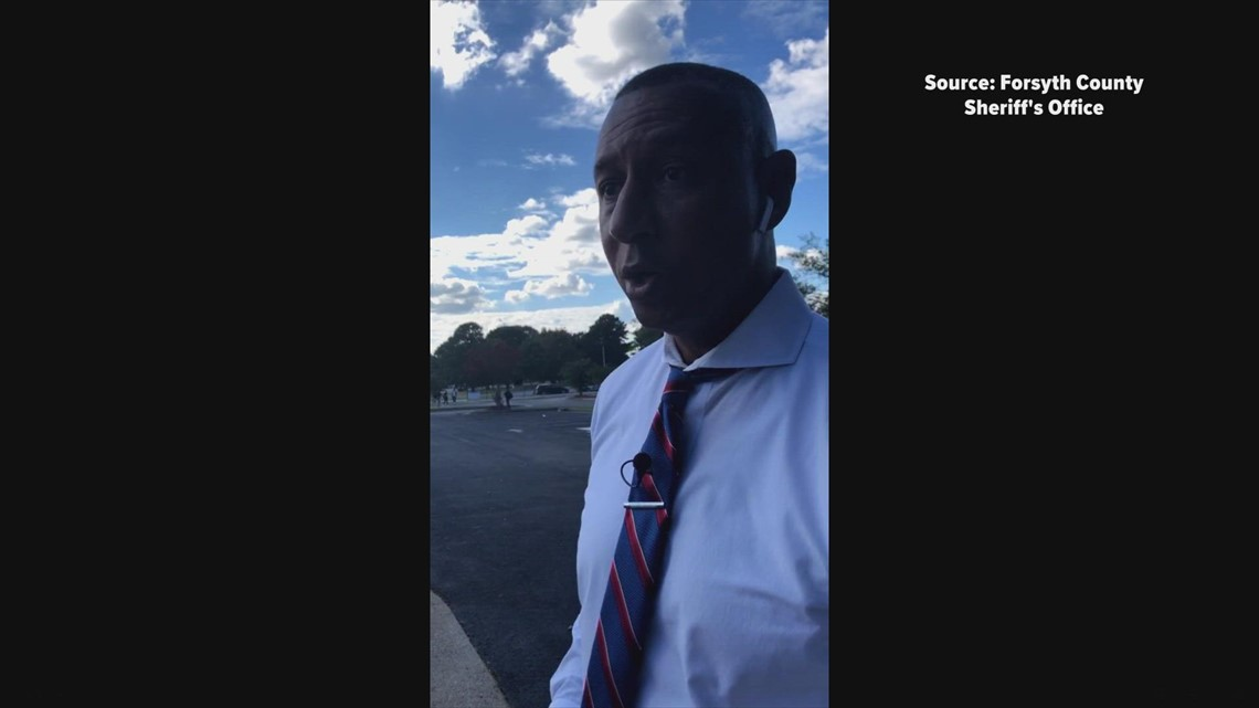 Forsyth Co. Sheriff Bobby Kimbrough talks about shooting near Parkland High