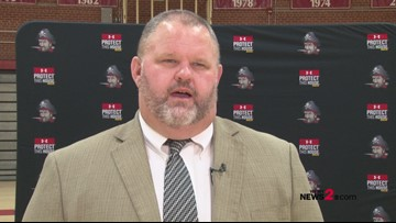 Page hires Doug Robertson as Head Football Coach